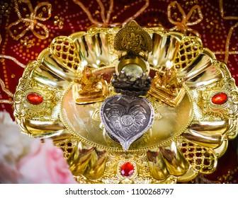Close Up of Hindu Wedding Details