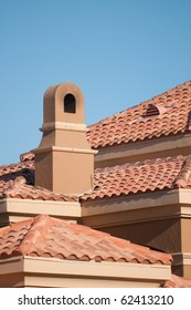 Close Up of a House Chimney
