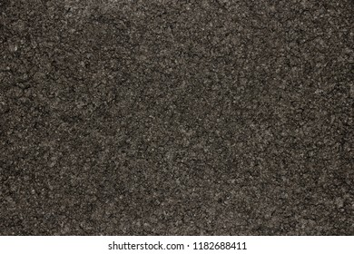 Close up image of dark ground