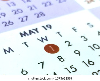 Close up image on 1st of May 2019, Labour Day celebration.