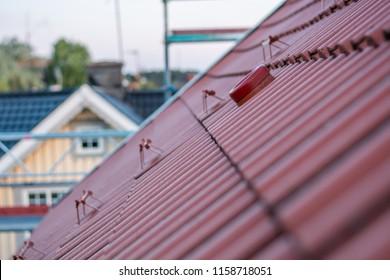 Imágenes, fotos de stock y vectores sobre Roof Ladder Industrial