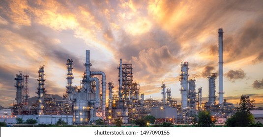 Close up industrial view,A equipment of oil refining,Oil and gas refinery area,Pipelines plant and Oil tank zone