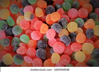 Close up of Jelly Tots