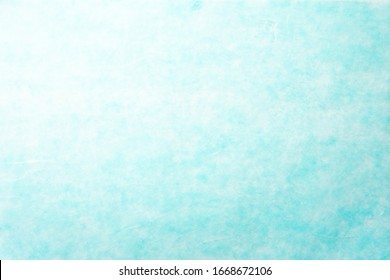 Close up of light blue Japanese paper