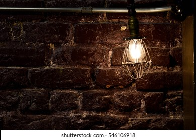Close up of light bulb and filament - Garden District, New Orleans, Louisiana, USA