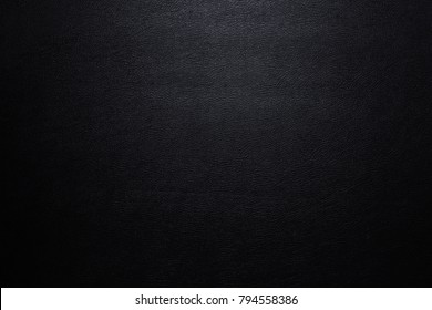 Close up Luxury black leather texture surface for background and space for your text