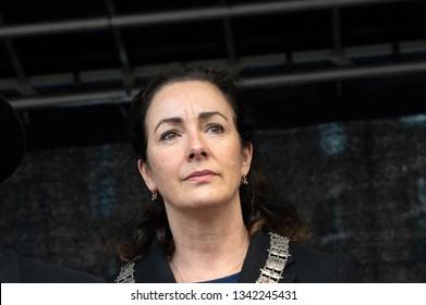 Close Up Of The Mayor Of Amsterdam Femke Halsema At The Netherlands 2019