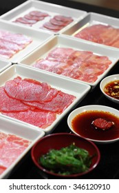 close up meat and vegetable in japanese food