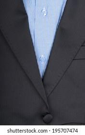 Close up of men's shirt