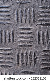 Close up of a metal pattern/ Metal pattern