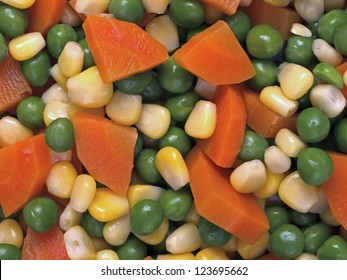 close up of mixed vegetable salad food background