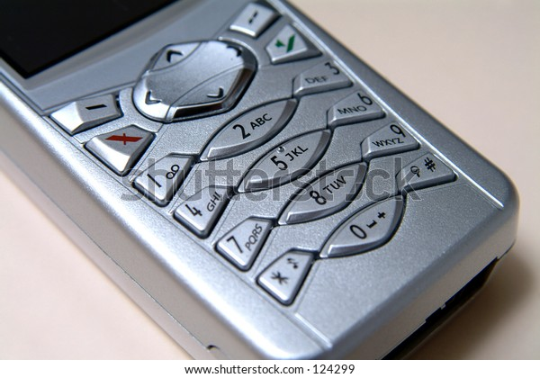 Close Up Of Mobile Phone