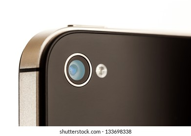 Close up of a Mobile Phone Camera