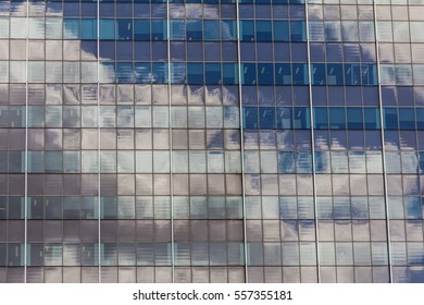 close up of modern building / abstract building background for design
