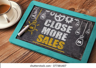 Close More Sales on blackboard