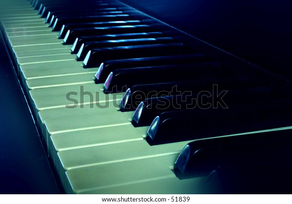 Close up of my piano