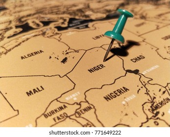 Niger Map Pin Images, Stock Photos & Vectors | Shutterstock