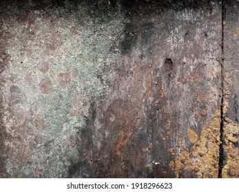 a close up of old brown wood texture eaten by age - Shutterstock ID 1918296623