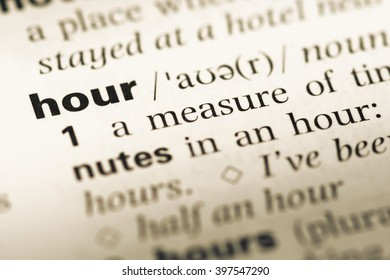 Royalty Free The Translation Of Hours Images, Stock Photos
