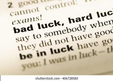 Bad Luck Images, Stock Photos & Vectors | Shutterstock