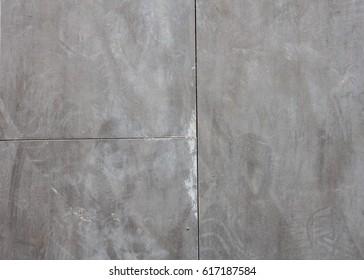 close up old rubber tile floor background
