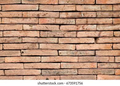 close up on brick wall