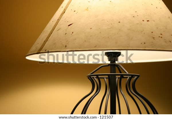 Close up on a lamp