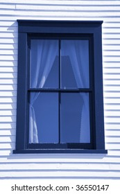 A close up on an old traditional style window.