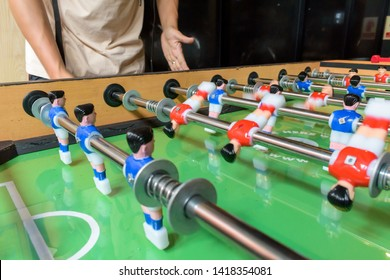 People Playing Foosball Images, Stock Photos & Vectors