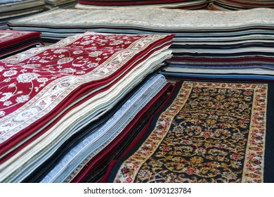 close up on stacking carpet for sale