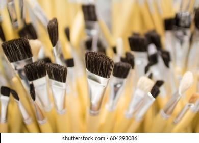 close up paintbrush