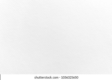 Close up of Paper Texture, White Watercolor paper Background, Surface of White drawing sheet texture background.