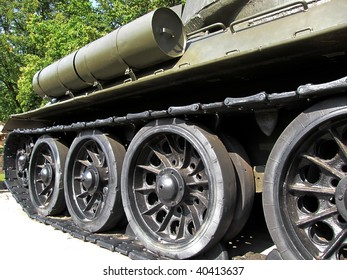 close up part of military tank