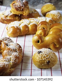 Close up of pastry