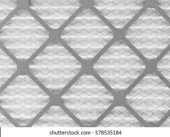 Close up pattern of a furnace filter