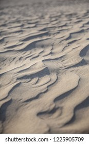 Close up of patterns in the sand at the Big Drift, Wilsons Promontory, Victoria, Australia