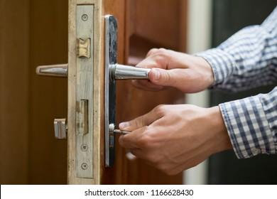 Locked Door Images, Stock Photos & Vectors | Shutterstock