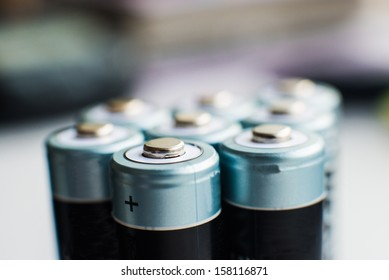 close up photo of batteries group