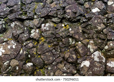 Close up photo of rough stone texture