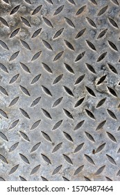 Close up photo of steel floor