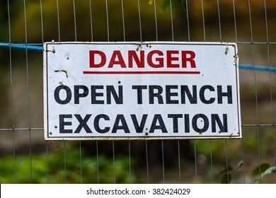 Imágenes, fotos de stock y vectores sobre Danger Sign Board