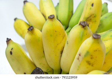 Close up of Pisang Awak banana