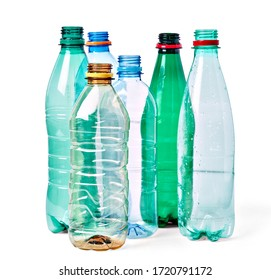 close up of a  plastic bottle on white background - Shutterstock ID 1720791172