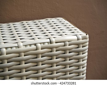 Close up Plastic weave