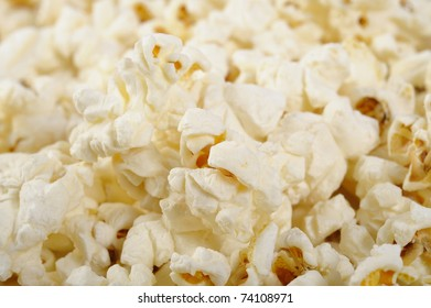 close up popcorn
