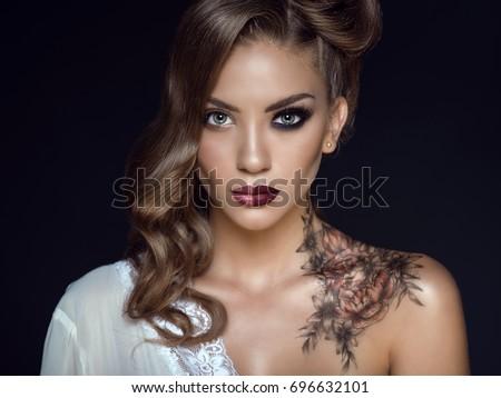 Close up portrait of