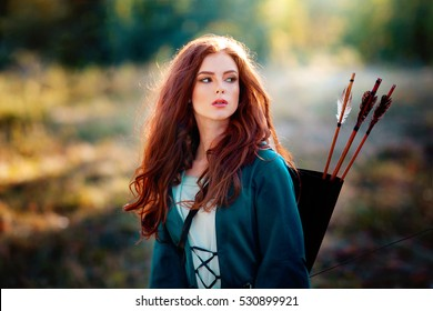 Red Hair Girl Images Stock Photos Vectors Shutterstock
