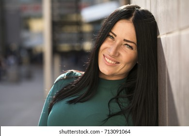 Beautiful Woman In City Images Stock Photos Vectors Shutterstock