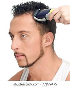 Male Hair Cut Images, Stock Photos \u0026 Vectors