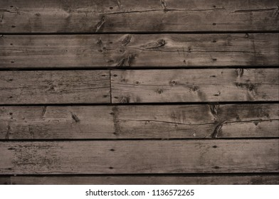 Close up pressure treated wood in a linear pattern, background for content layout and design.